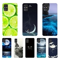 Cute Painted Case For Samsung Galaxy M31s 6 5 Soft Silicone Back Cover For Samsung M31s M 31 s SM-M317F Phone Cases Bag Bumper