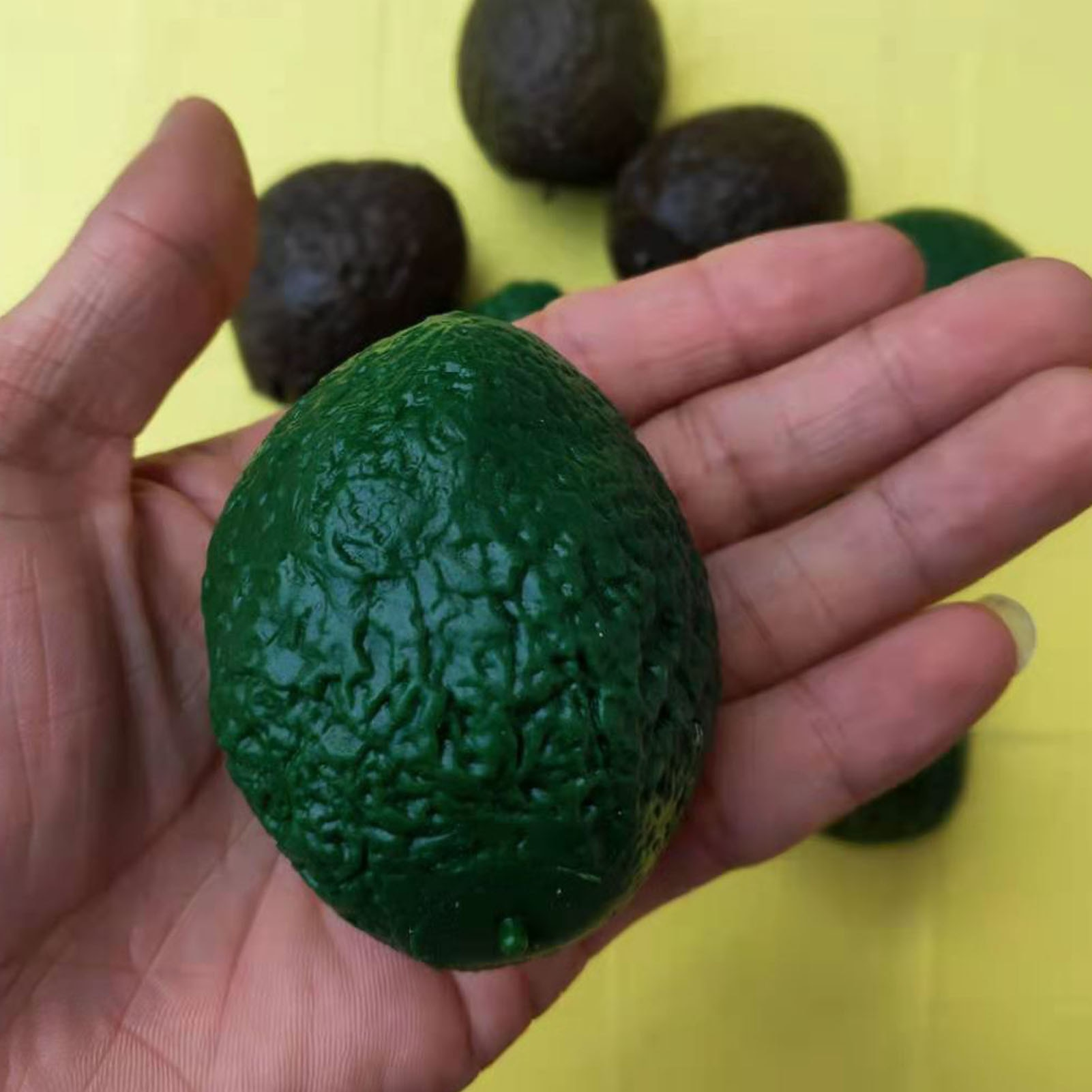 12PCS Avocado Toy Decompression Stress Relief Fun Toy For Kids Adult Anxiety Stress Relief Fidget Decompression Sensory Toys enlarge