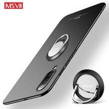 Mi 9 MSVII mat kapak Xiaomi Mi9 SE Mi8 Pro Xiaomi Mi CC9 Pro halka tutucu kapak xiaomi Mi için 9T Mi 8 9 Lite kılıfları