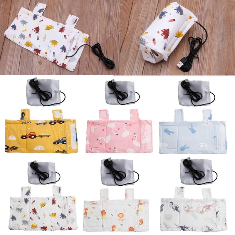 Портативная подогреватель для детских бутылочек с USB, подогреватель для молока и воды для новорожденных, бутылочка для кормления, подогрева...