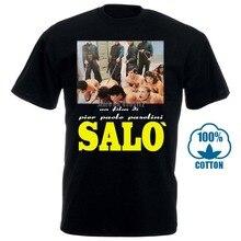 Salo 120 jours de Sodom t-shirt film Paolo Pasolini horreur Exploitation mode été Paried t-shirts haut t-shirt 012591