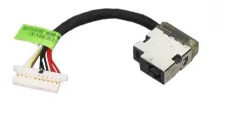 For HP 17-W206tx W205tx W120tx W023dx TPN-Q174 Laptop DC In Power Jack Cable Charging Port Connector