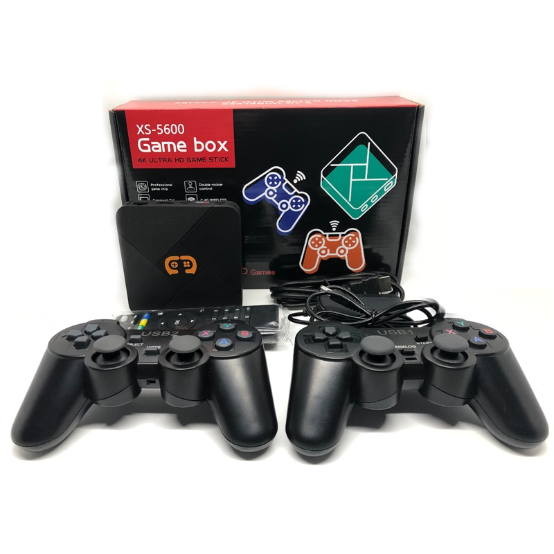 2021 Best NEW PS5600 retro TV BOX Game Console for PS1/PSP/SFC/NEO/Arcade/GBA/N64 Video Game Console with 5600 games 3D games