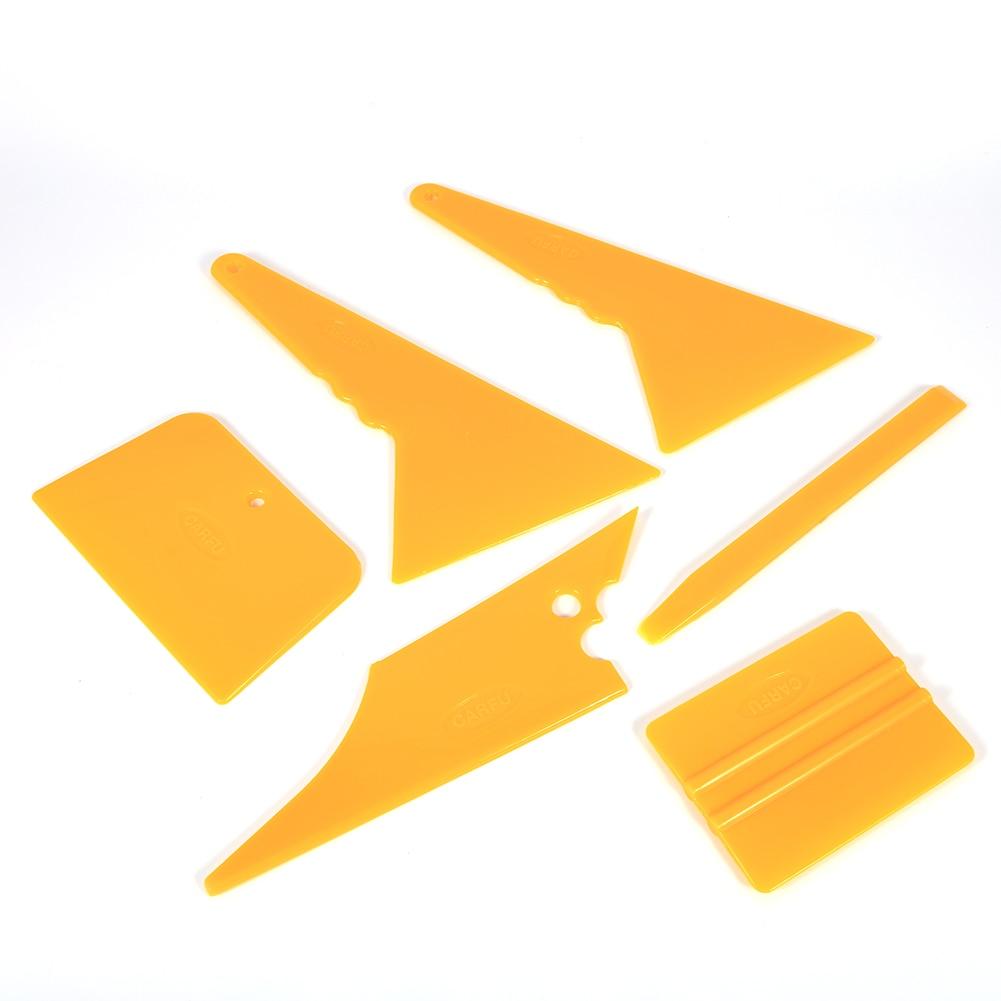 6 unids/set herramienta de tinte de ventana profesional para coche Kit s para LCD TV Film Auto película tintado raspador Anti arañazos herramienta de tinte de ventana