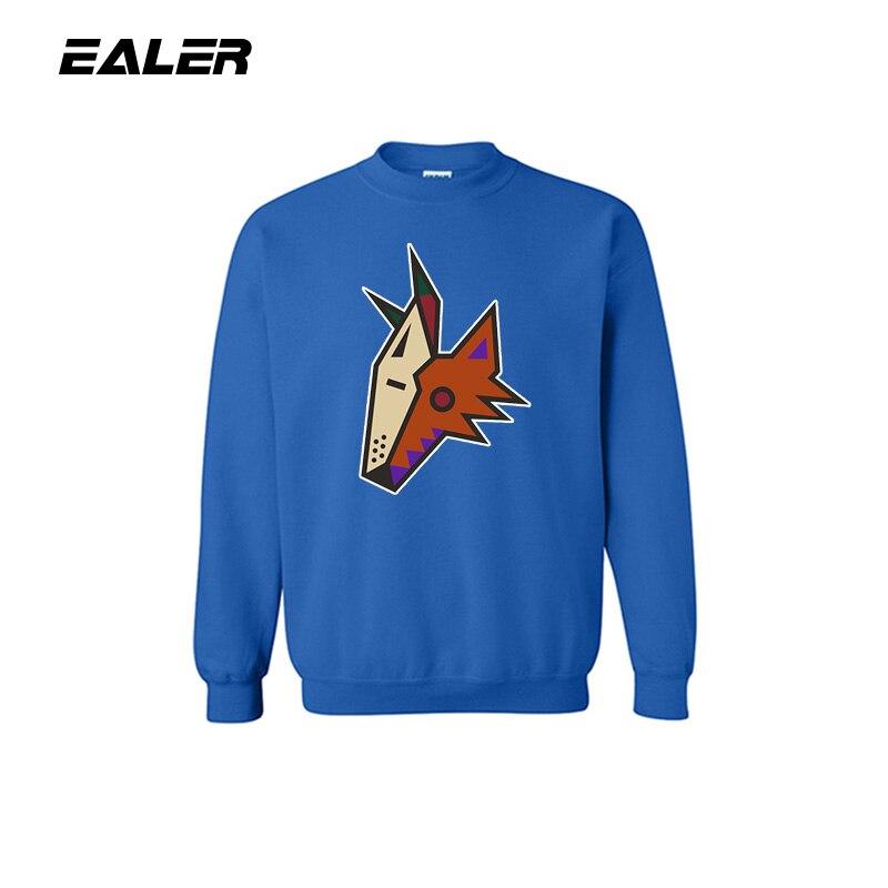COOL HOCKEY hombres azul deportes suéter Fitness Coat con logo para los fans del hockey sobre hielo sudadera