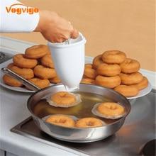 VOGVIGOVOGVIGO Donut Maker Diy Donut Making Light Artifact Creative  Fast Easy Waffle Doughnut Machine Baking Kitchen Dessert