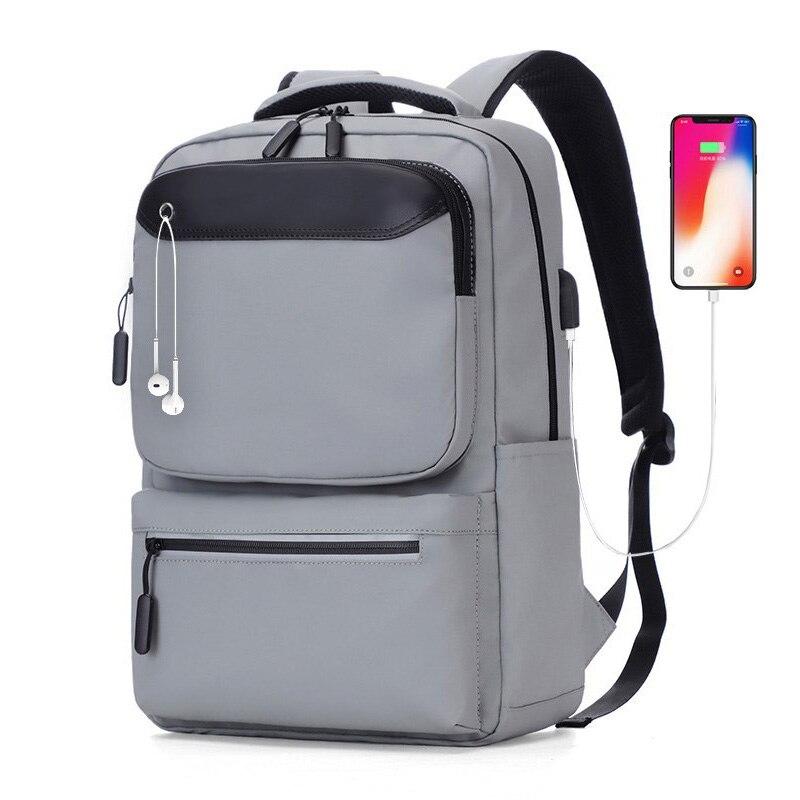 Men Backpack Waterproof Charging Backpack For Laptop Casual Daypack Male Mochila Sports Rucksack Anti Theft School Backpacks