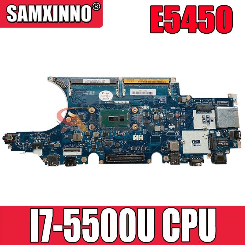 اللوحة الأم للكمبيوتر المحمول الأصلي لديل خط العرض E5450 I7-5500U CN-0CNFRG 0CNFRG LA-A901P SR23V DDR3 اللوحة الأم