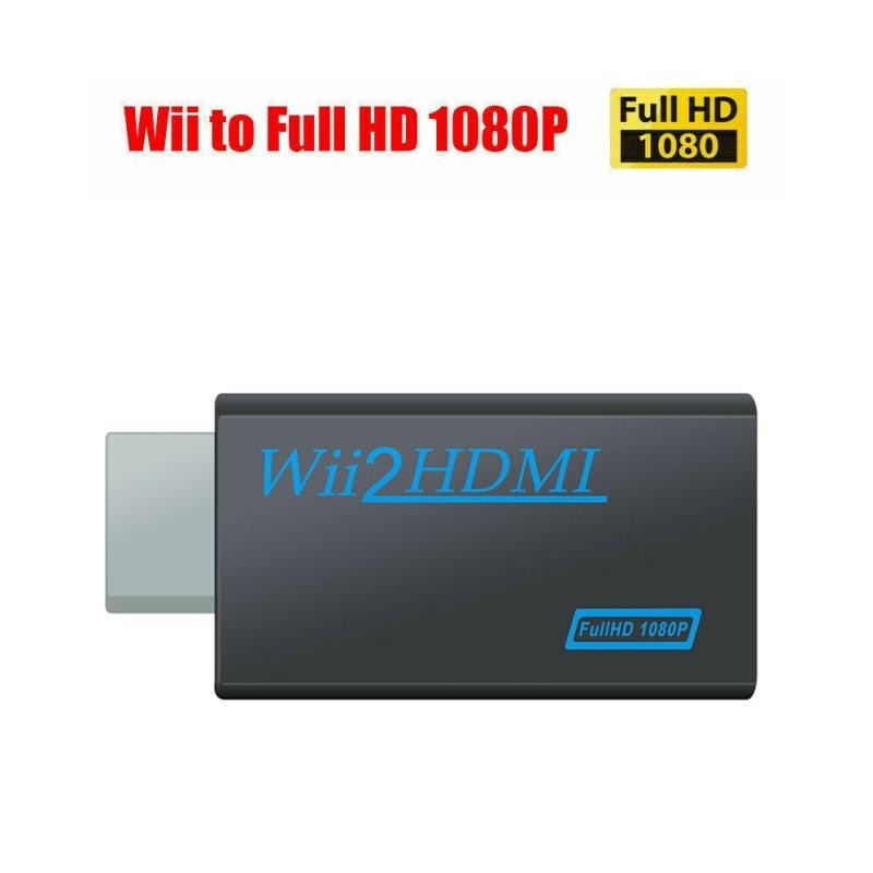 1080P Wii Adaptador convertidor Wii2 convertidor HD completo de Audio de 3,5mm...