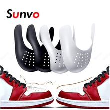 2 Pair Anti Crease Shoe Head Protector for Casual Sneaker Anti Wrinkle Shoe Toe Caps Support Stretch