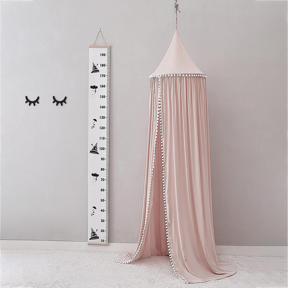 2,45 m precioso Anti Mosquito de algodón de la red de la cama de los niños del bebé dosel de la habitación de los niños casa viaje Camping suministros