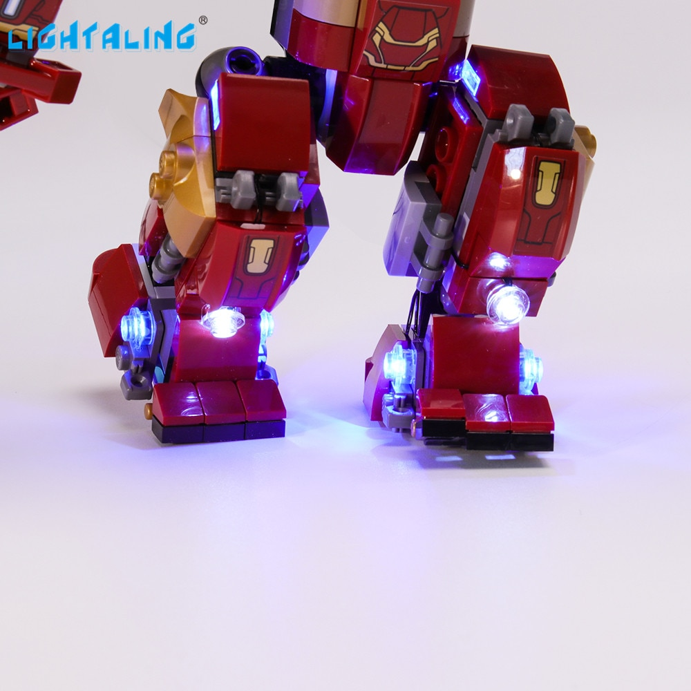 Купить с кэшбэком Lightaling Led Light Kit For 76104 Compatible With 7102 10832