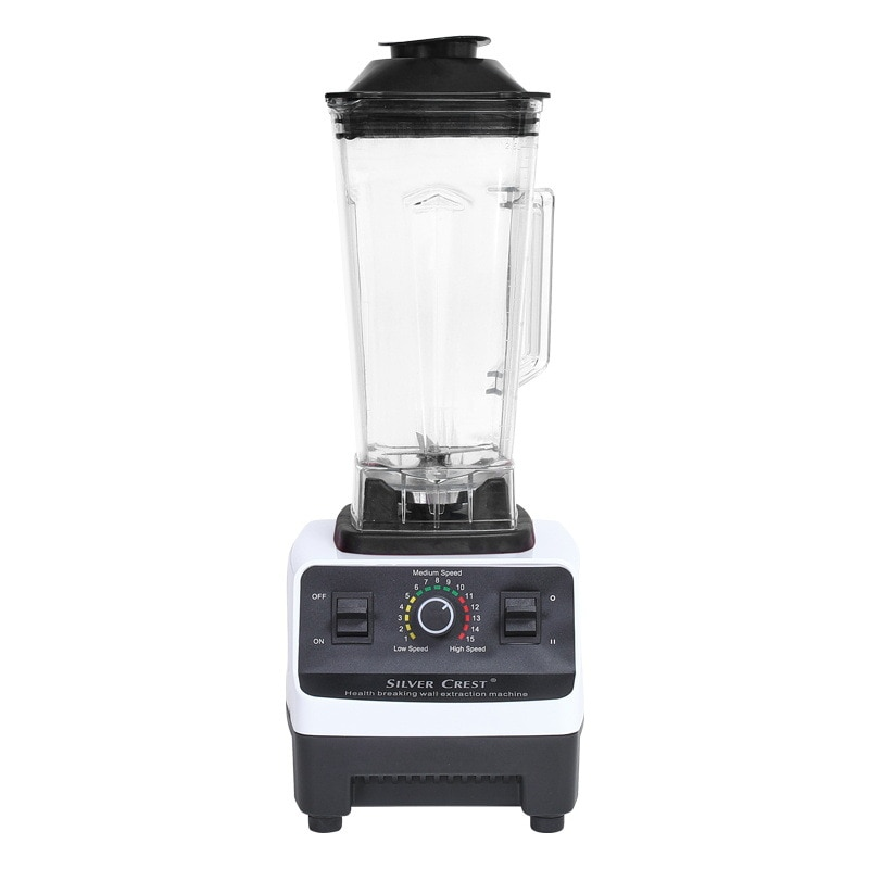 220V EU 1500W Heavy Duty Professional Blender Mixer Juicer High Power Fruit Food Processor Ice Smoothie zk 1000w heavy duty commercial and household grade blender mixer juicer fruit food processor ice smoothies 2l