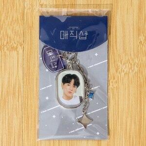 New South Korean Groups Kpop Bangtan Boys 5TH MUSTER Keychains Metal Creative Keyrings Bag Pendant Key Tings Accessories
