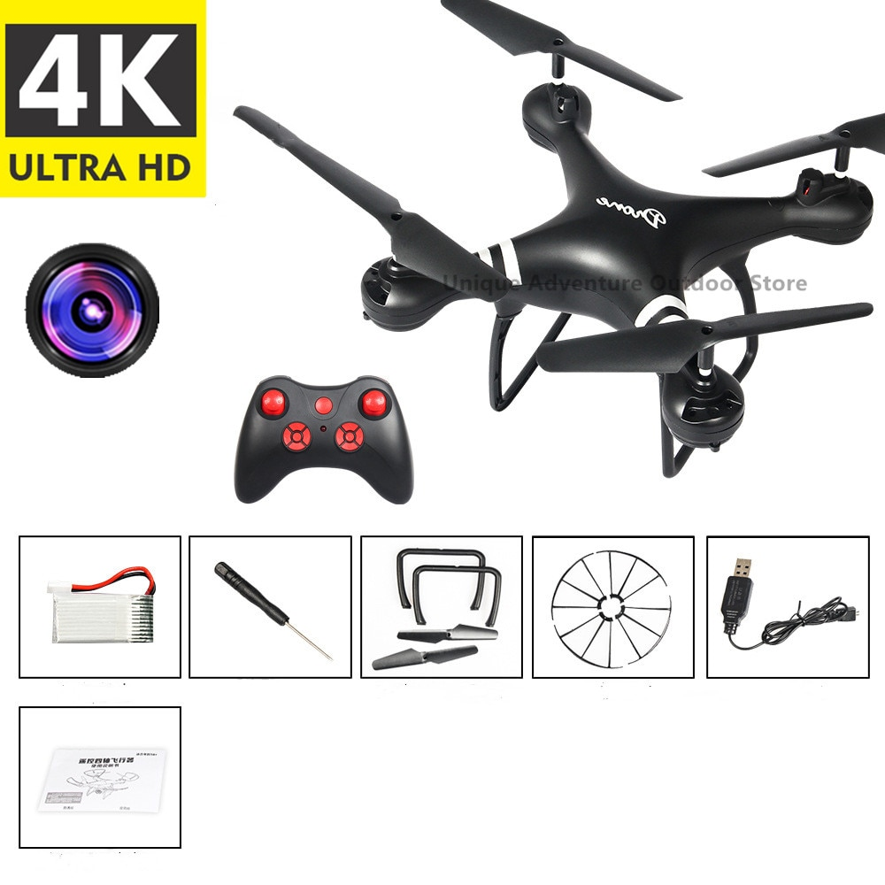 Drone 4K HD Aerial Camera Quadcopter WiFi Image Transmission Remote Control Aircraft Toy Photography Without