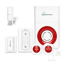 Systeme dalarme de fuite deau sans fil  alarme SOS durgence et de securite a domicile  sirene GSM