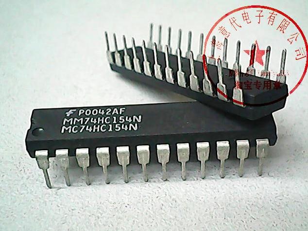 5pcs MM74HC154N 74HC154
