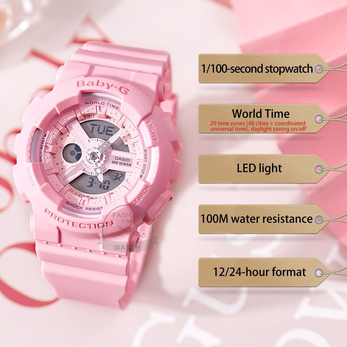 Casio watch men g shock top luxury set military Chronograph LED digital watch sport quartz men watch часы мужские BA-110-4A1 enlarge