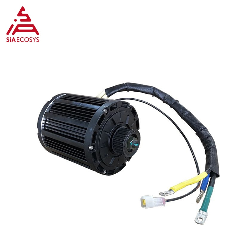 QS Motor 4000W 138 90H mid drive motor for Motorcycle 72V 100km/h enlarge