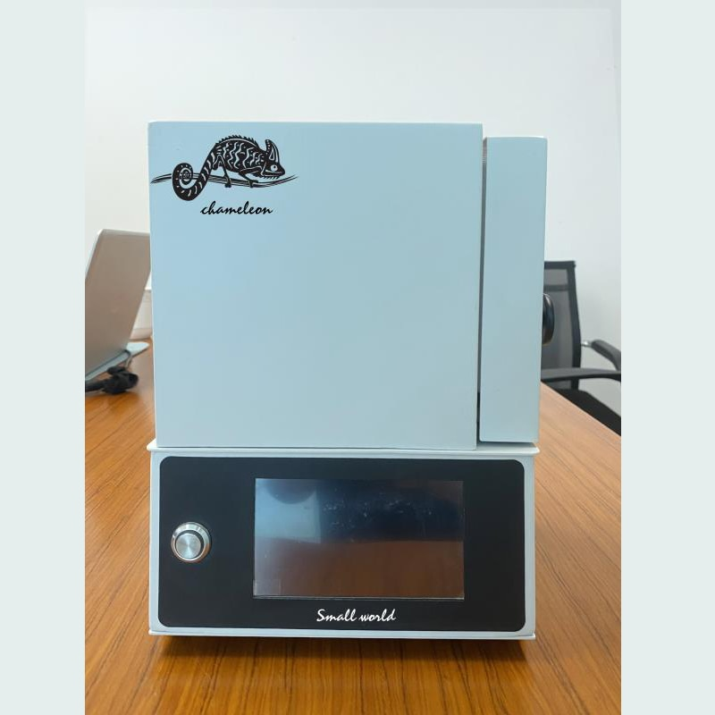 dental mini furnace for stain and glazing 850 degree-cad cam dental teeth equipment white color