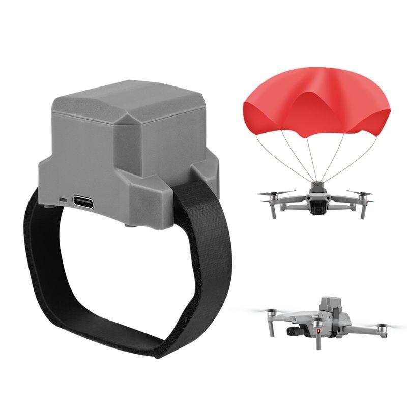 Segurança de Voo Guarda-chuva de Segurança com Duplo-sensor de Fusão de Dados para Mavic Segurança de Vôo Acessórios de Proteção Pára-quedas Drone ar 2