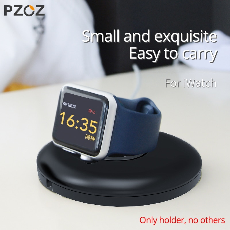 PZOZ For Apple Watch Charger Holder Bracket For Apple Watch iwatch 5 4 3 2 1 Series Wireless Chargin