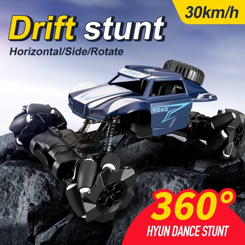 M1B 1/16 2.4G 4WD RC Car 30km/h Stunt Off-Road Drift High Speed Twist Waterproof Radio Control Vehic