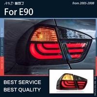akd car styling for bmw e90 2005 2008 led tail light signal brake reverse rear fog lamp led light dynamic lamps auto accessories