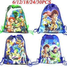 Disney Toy Story Theme Bags Kids Birthdays Non-Woven Drawstring Gift Bag Child Favor Travel Pouch St
