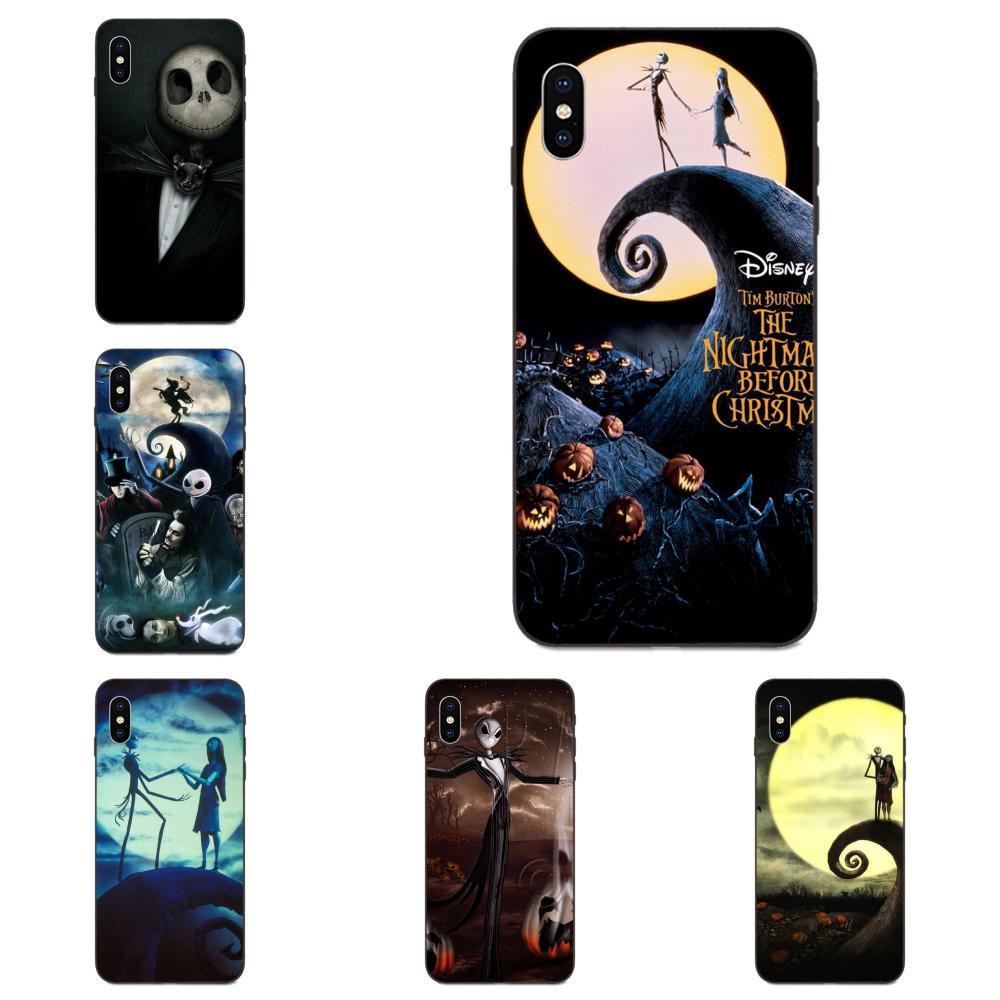 Tim Burton Dos Desenhos Animados Multi Cores Para Galaxy A10S A20S A2 Core A30S A40S A50S A70S A90 5G M10 M30S M40 Nota 10 Plus