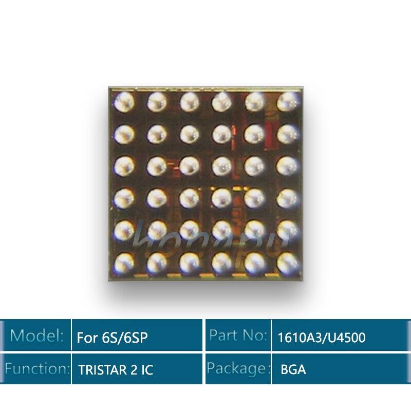 10 unids/lote 1610A3/U4500 IC para iphone SE U2/USB de cargador USB/carga/TRISTAR 2 IC
