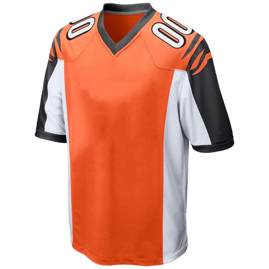 Mens Angepasst Stich Jersey American Football Cincinnati Fans Trikots WILLIAMS MUNOZ BOYD BERNARD DENNARD PREIS DALTON Jersey