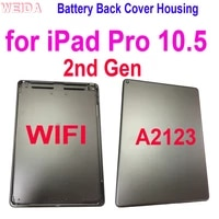 new a2123 back cover battery housing door case for ipad pro 10 5 2nd gen a2123 wifi rear housing battery cover