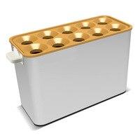 אוטומטי חשמלי ביצת נקניק מכונה מסחרי עשר-חור ביצת נקניק עושה המכונה חטיפי קבלת מכונת CY-10