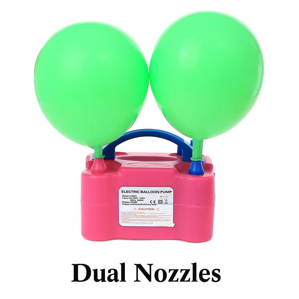 Eléctrico portátil bomba para inflar globos REINO UNIDO/US Plug herramienta inflable 220-440V soplador de aire de la nave de alta potencia de dos Bl Y2D4