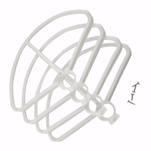 Accessories For MJX B5W F20 Bugs 5W Quadcopter Blade Protection UAV Protection Cover/Set Spare Parts - White