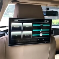 car headrest monitor android 10 0 rear seat entertainment system for range rover evoque sport car tv screen 12 5 inch 4gb64gb