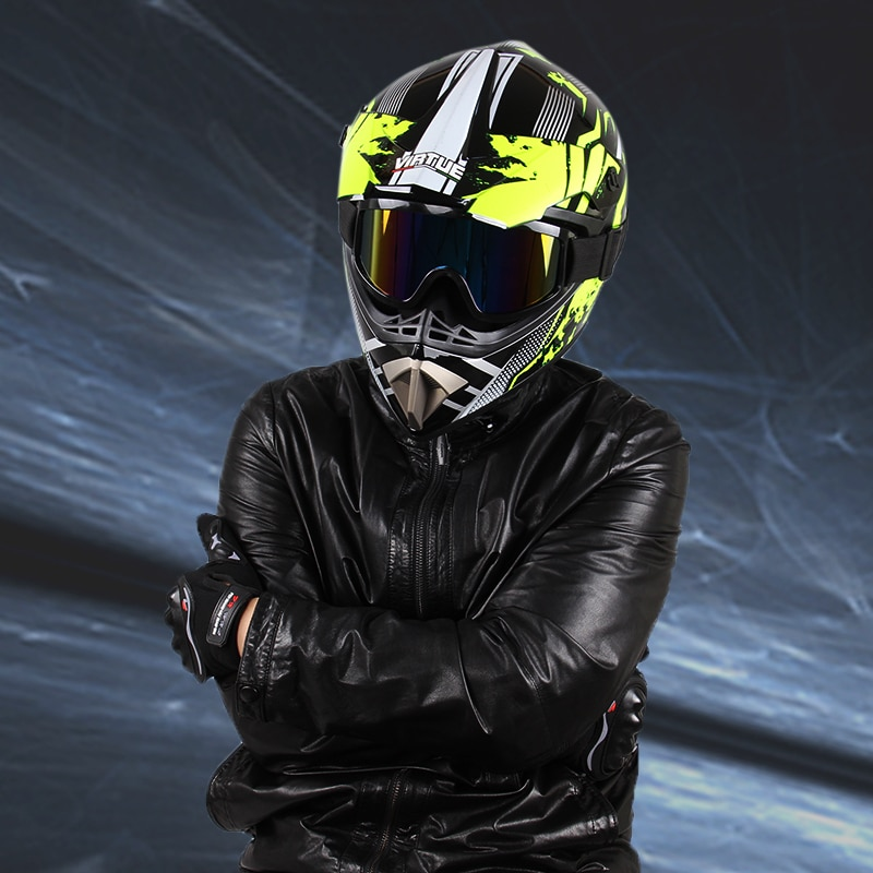 Motorcycle Helmet Professional New Motor Off-road Helmet Suitable Kid Downhill Racing Motocross Casque Moto Helmet 3 Free Gift enlarge