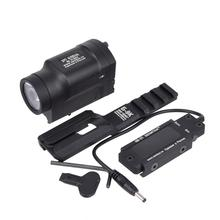 AK47 AK74 Tactical Light gun New AK-SD LED Weapon Flashlight Fit 20mm Rail Momentary With Remote Swi