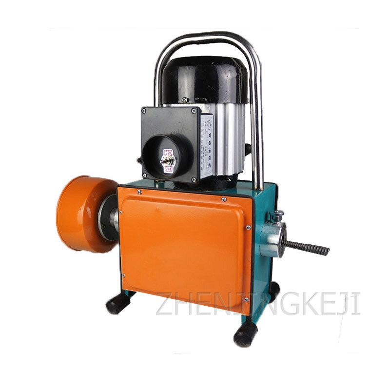 Pipeline Dredge Machine Super Waterproof Electric Professional High Power Sewer Tool Toilet Floor Drain Cleaning Artifact 800W