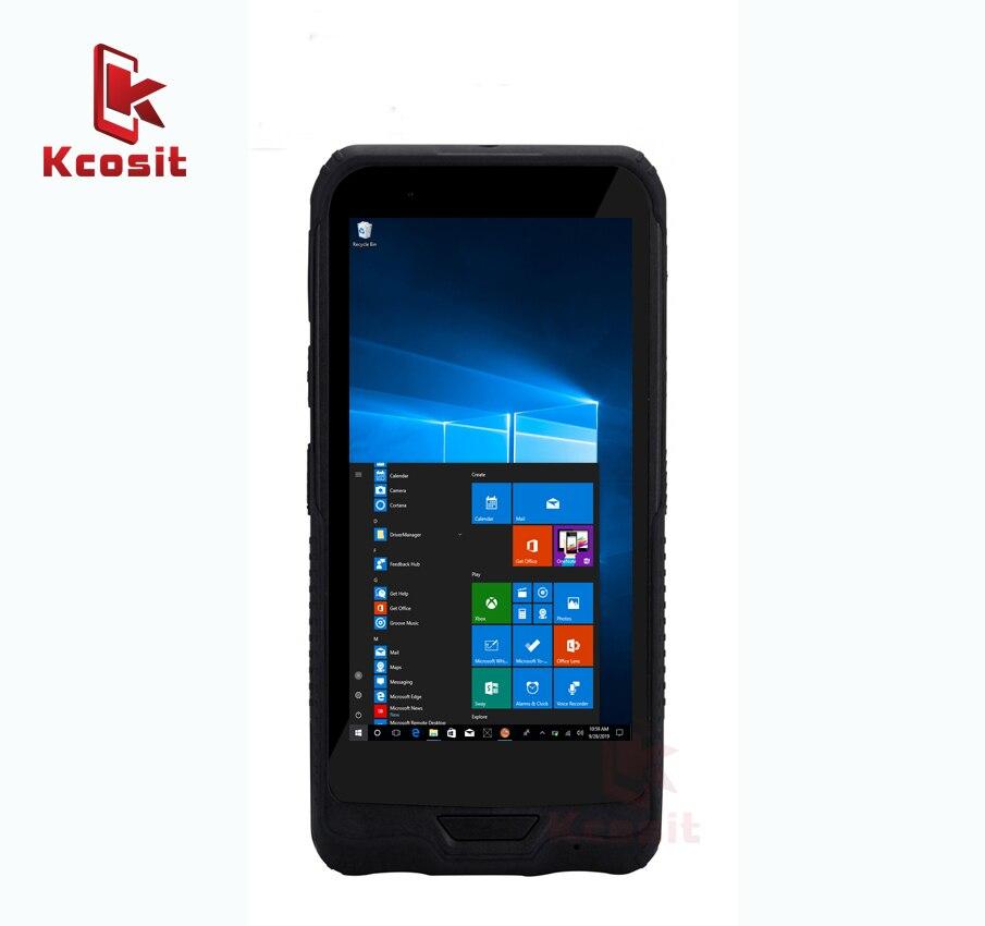 Original K62H Tablet PC móvil Windows 10 impermeable a prueba de golpes a prueba de computadora de 6 pulgadas Intel Z8350 banda Dual Wifi GPS Single SIM GPS