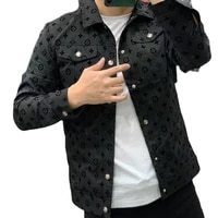 2021 new jacket men s short spring and autumn fashion and handsome top casual high end men s coat