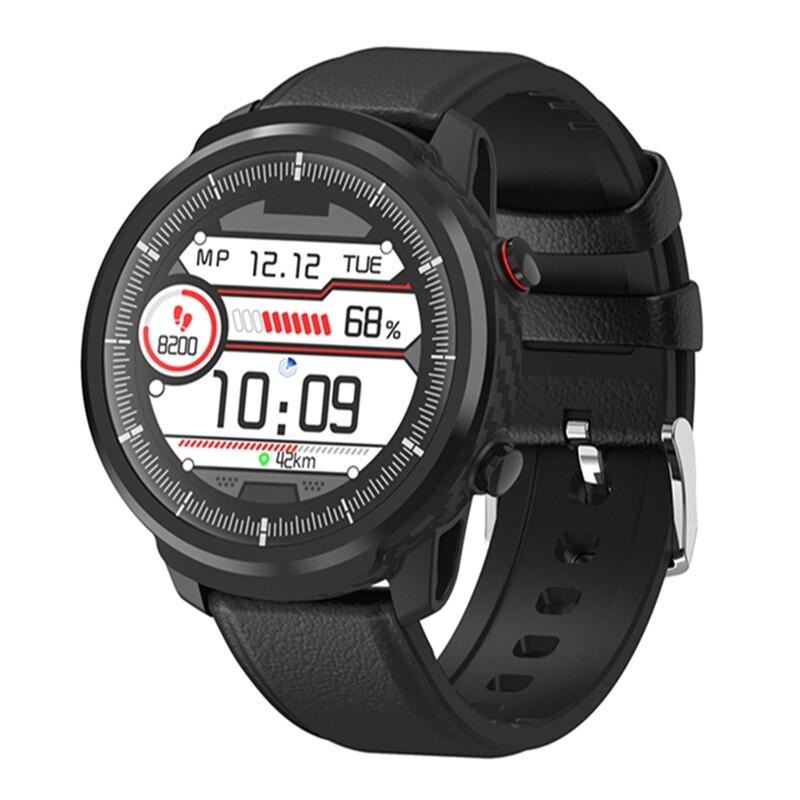 Reloj inteligente IP68, resistente al agua, modos multideportivos, Smartwatch con presión arterial, Monitor de ritmo cardíaco, relojes deportivos para hombre