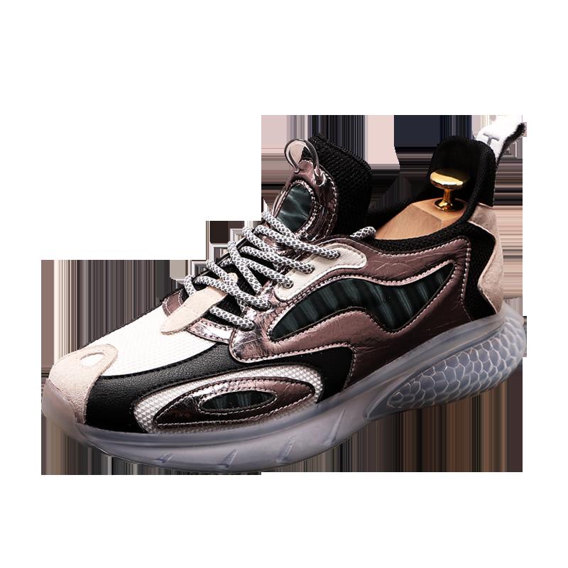 خريف شتاء عصري رجل حذاء رياضة مصمم فاخر ماركة الرجال أحذية رياضية كاجوال دافئ الفراء الشقق في الهواء الطلق أحذية رجالي Zapatillas Deporte