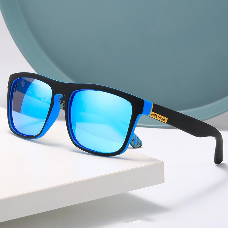 New Popular Temperament Blackout Sunglasses Men And Women Retro Square Sports Driving, Cycling, Fish