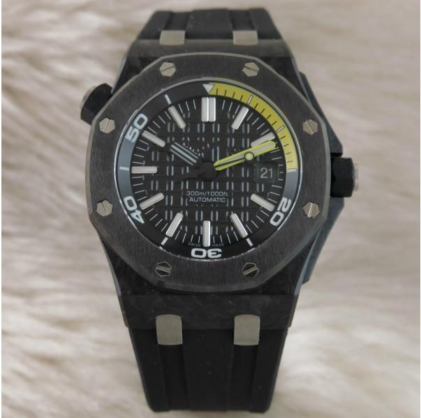 Relojes para hombre WZ09260, marca líder, diseño europeo de lujo, reloj mecánico automático