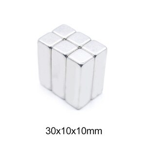 1~20PCS 30x10x10 mm Super Strong Sheet Rare Earth Magnet 30x10x10mm Block Rectangular Neodymium Magnets N35 Magnet 30*10*10 mm