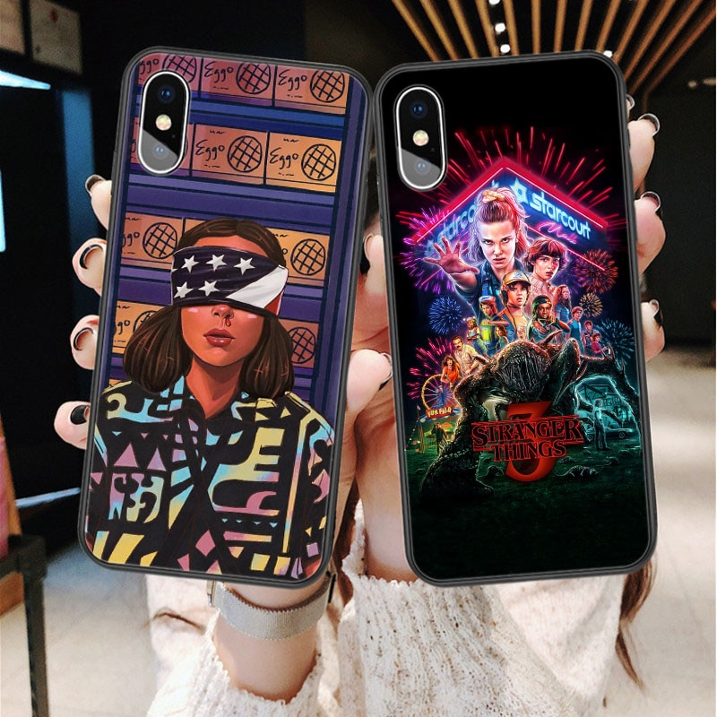 Stranger Things Season 3 Soft silicone TPU Phone Case For iphone 11 Pro Max 2019 X 5S 5 SE 6 6s Plus 7 7 Plus 8 8 plus XS Max XR