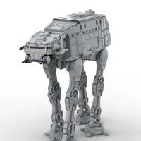 moc star series wars building blocks plus size at at walker model toys space wars atat set toys kids gifts