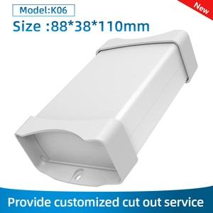 Abs Dustproof Housing Electronic Aluminum Housing Bluetooth Pcb Circuit Board Enclosure Durablity Box K09 152*44mm